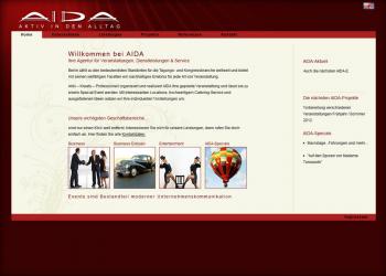 AIDA Veranstaltungsagentur [Webseite | Pflege & Wartung]