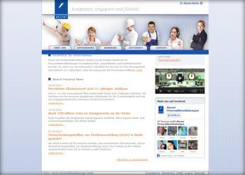Akzent Personaldienstleistungen [Webdesign]
