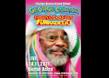 Astra-Kulturhaus 'George-Clinton-Konzert' [Din-A1-Poster]