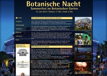 Botanische-Nacht [Webseite | Pflege & Wartung]