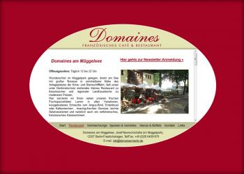 Domaines-Berlin [Website | Pflege & Wartung]