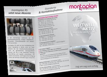 Flyer/Leporello - montaplan Rail Solution GmbH