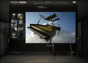 Frank Poddig - 3D Artist [Website | statisch]