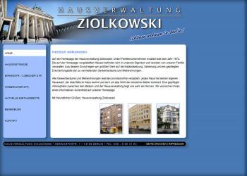 Hausverwaltung-Ziolkowski [Website | Pflege & Wartung]